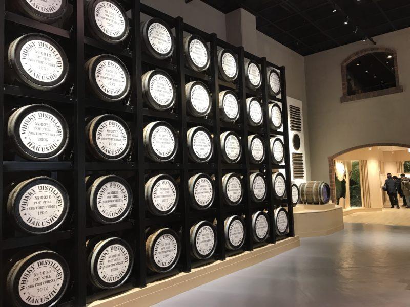 ウイスキー博物館(1階)