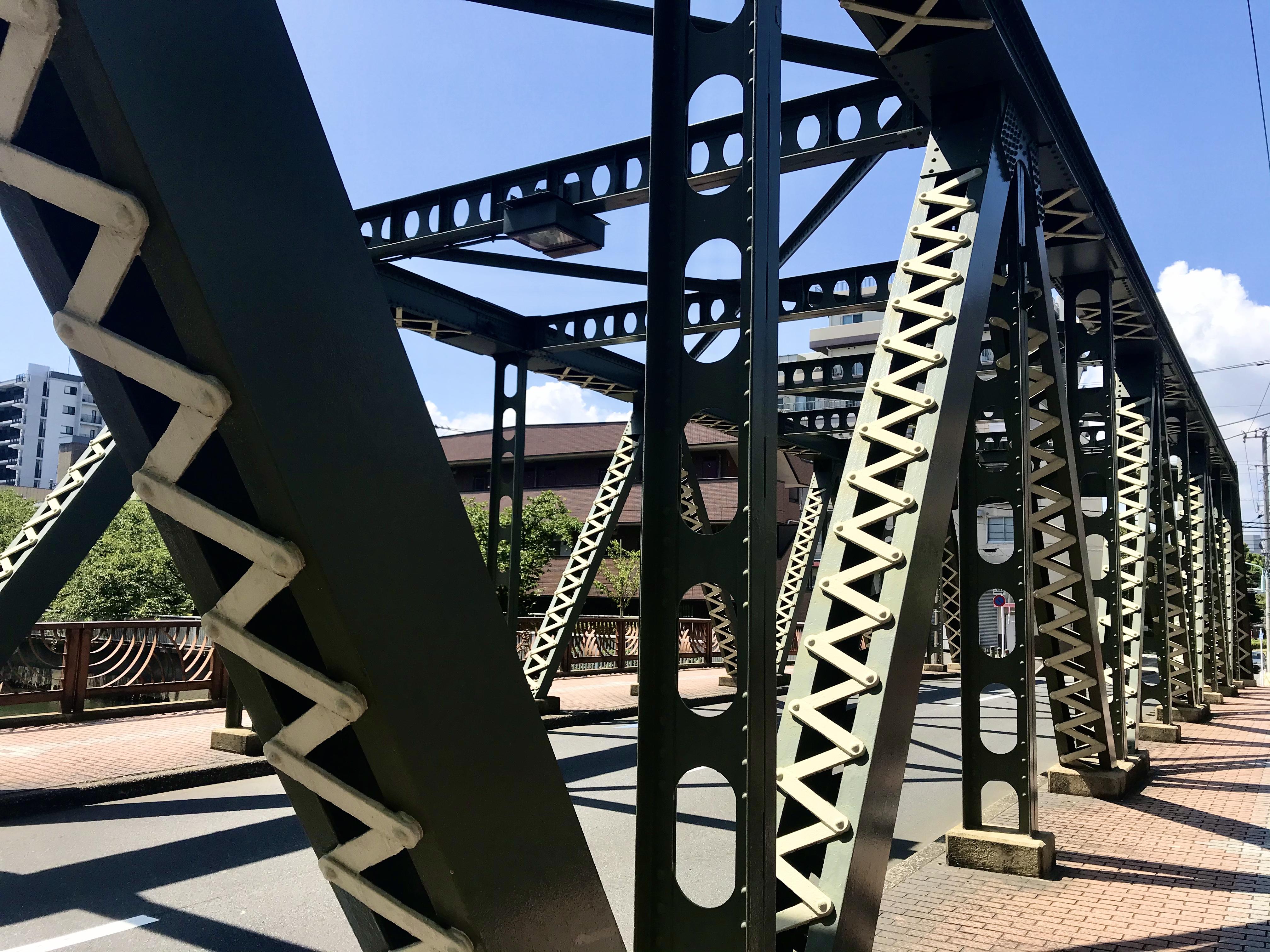 福壽橋のツートントラス