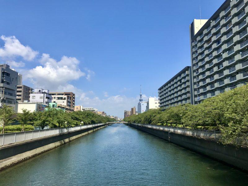 福壽橋北側の眺め