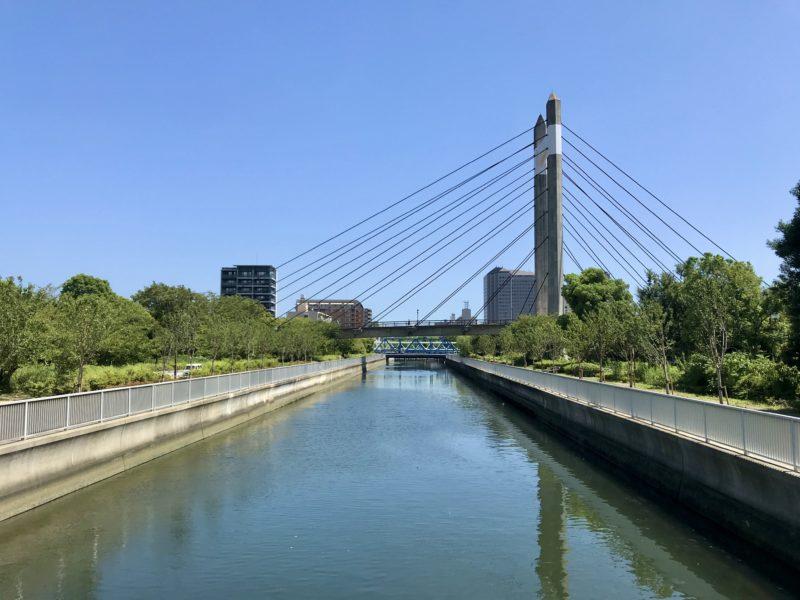 末広橋の東側