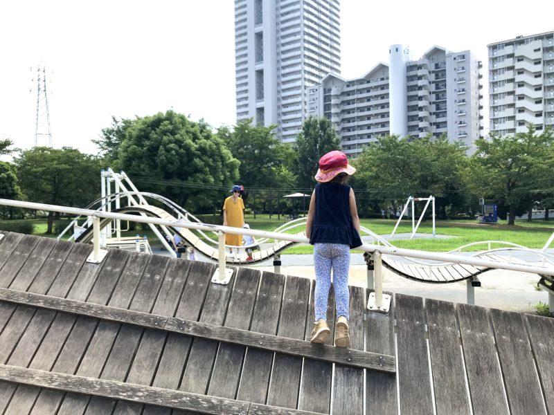 大島小松川公園アスレチック広場