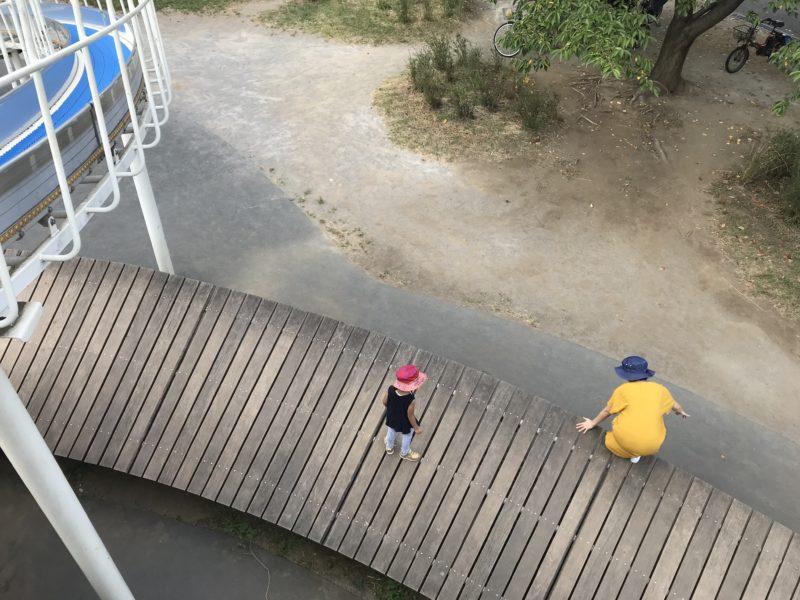 大島小松川公園アスレチック