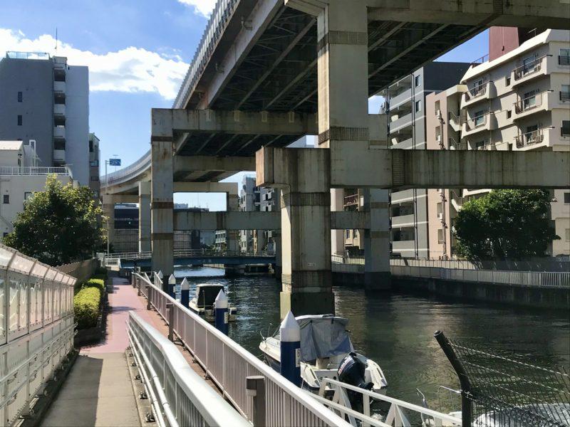 塩原橋付近からみる一之橋